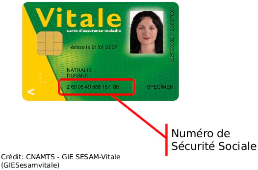 numéro sécurité sociale sur carte vitale Appointments with CPAM   no more queues!   P O Life