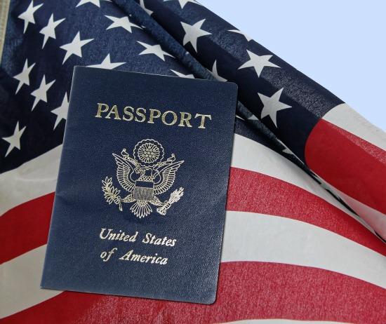 American passports and visas