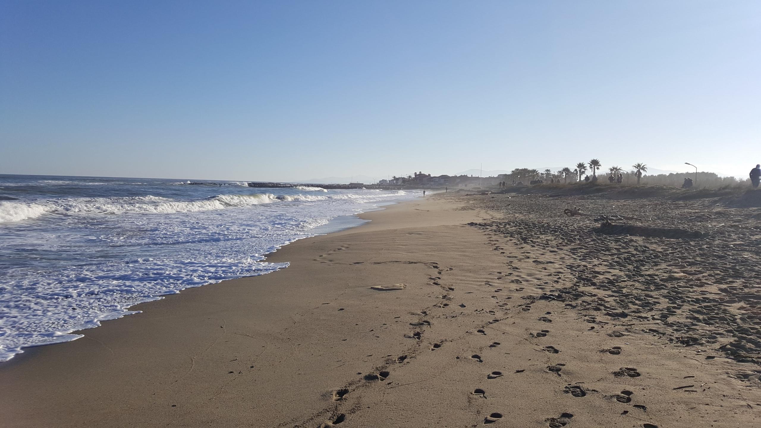 sainte marie plage hiver
