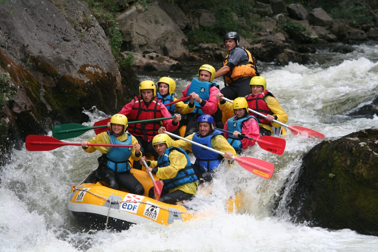 rafting with Exterieur Nature