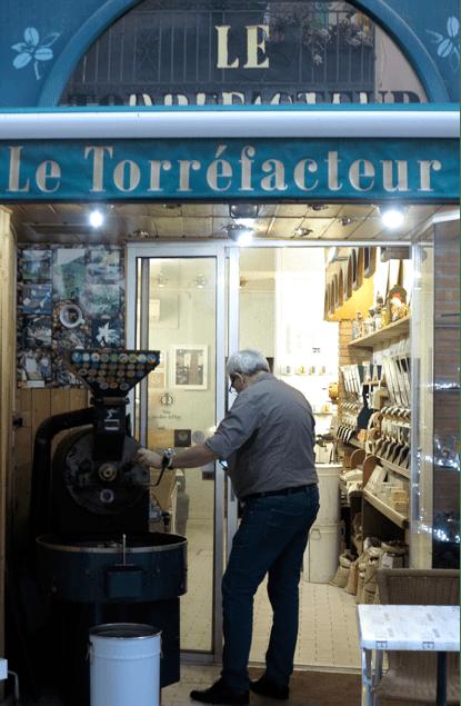 rue des Augustins café Perpignan
