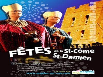 Fête de la St Côme et St Damien, Argelès sur Mer