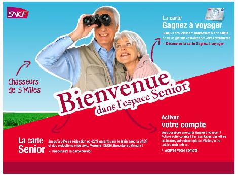 carte senior sncf 40 euros Carte senior – discount railcard in France   P O Life