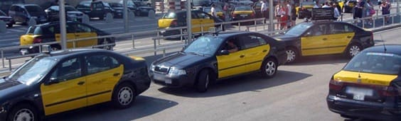taxi barcelona airport