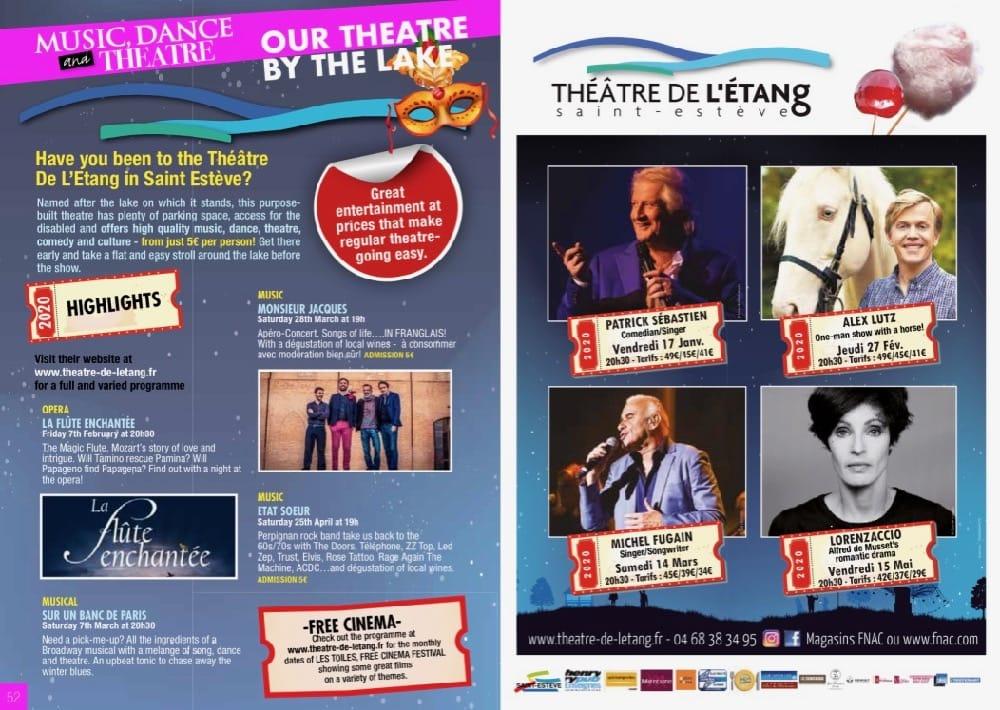 Theatre de L'Etang Saint Esteve 66