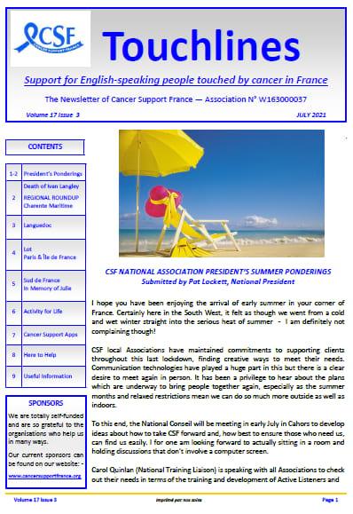 csf newsletter