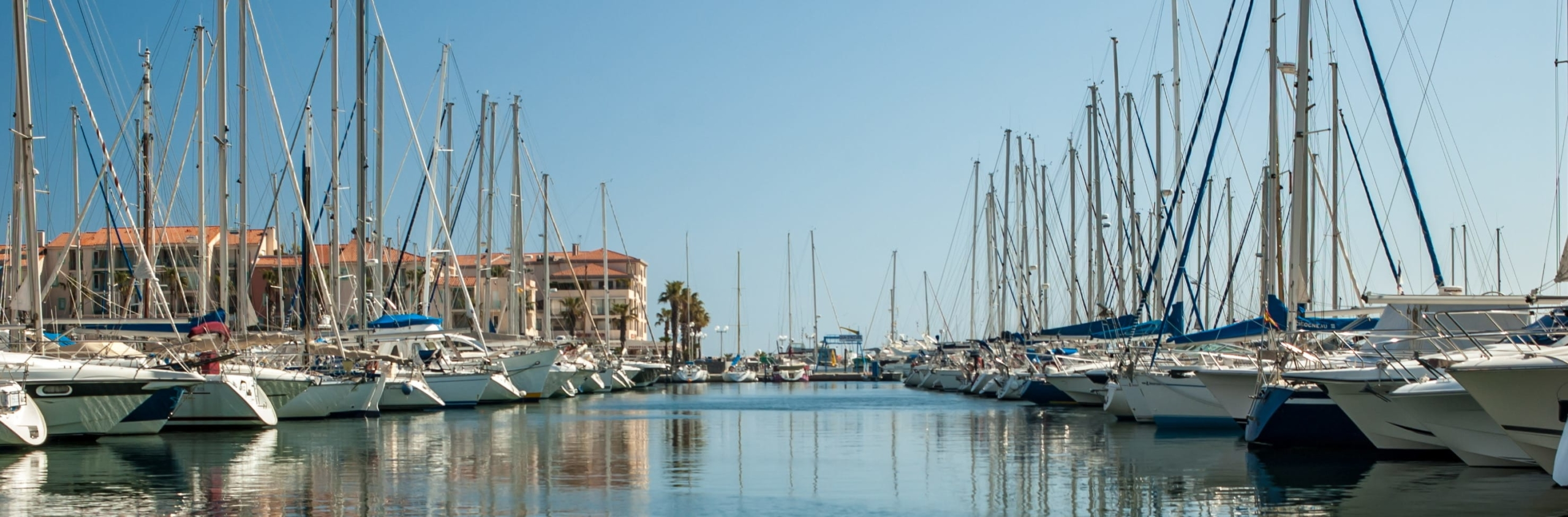 Boats in Argeles Port