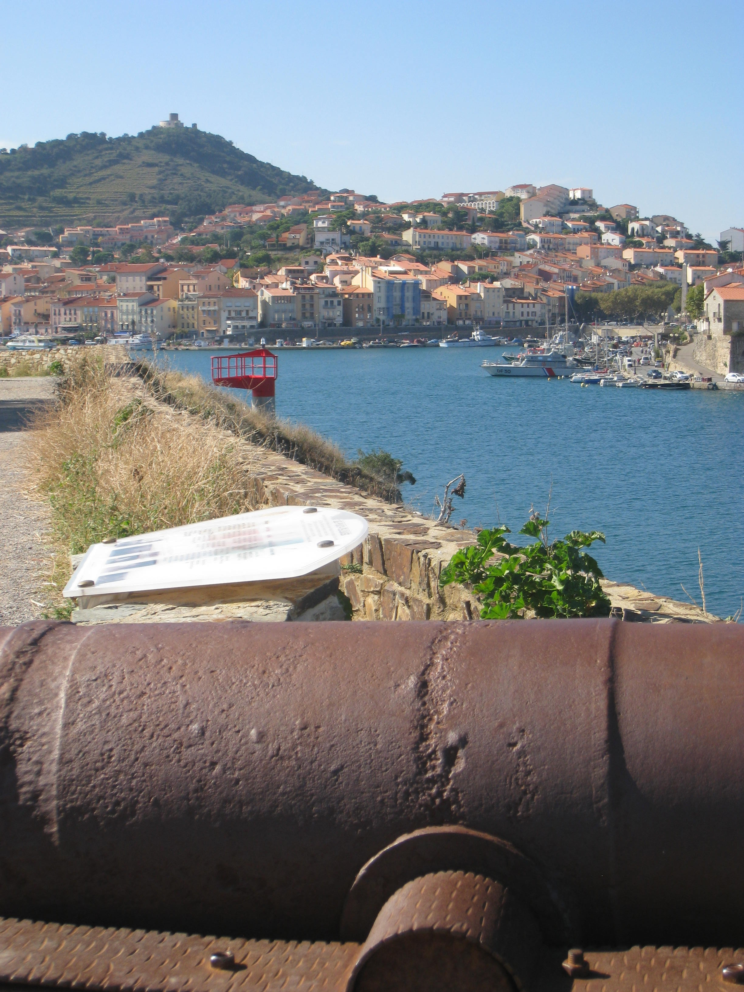 View of Port Vendres